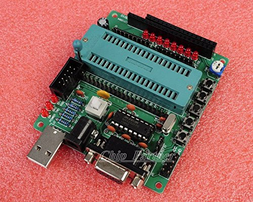 wonderfullshopDIY learning board kit Parts and components C51/AVR MCU development board