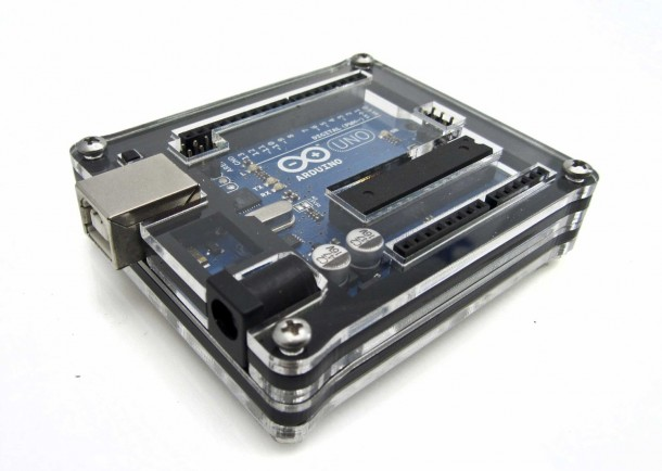 Arduino Uno Zebra Case
