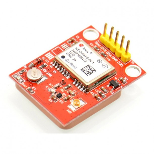 JBtek Raspberry Pi GPS Module with U-BLOX NEO-6M Modular and High-Performance Ceramic Antenna