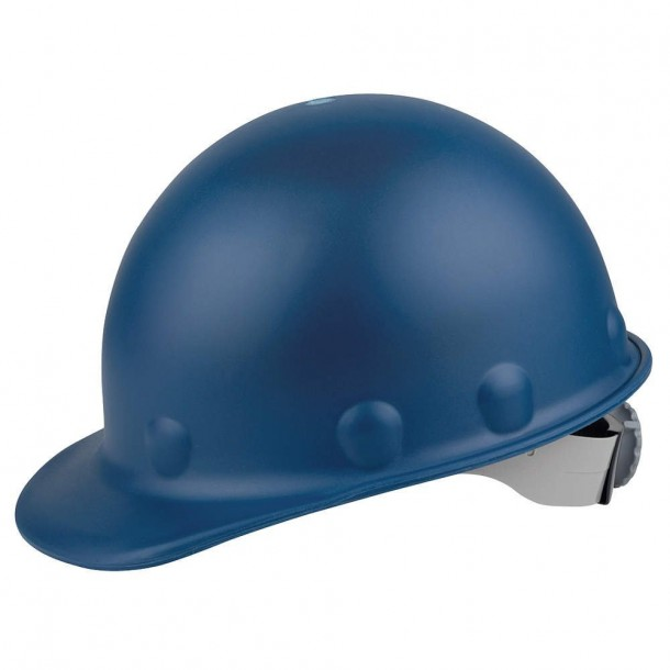Fiber-Metal P2A Hard Hat with 8-Point Ratchet Suspension Hard Hats For Safety And Comfort
