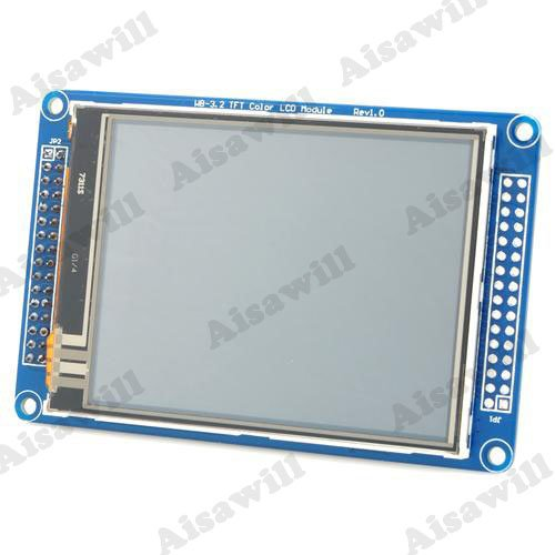 "Asiawill® 3.2"" Color TFT Touch LCD Screen Module for Arduino"