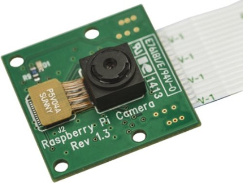 Raspberry Pi Camera Modules 5 megapixel native resolution sensor