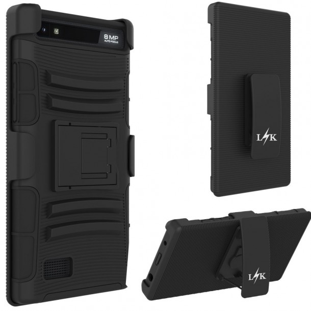 BlackBerry Leap Case, LK Heavy Duty Shock Absorption