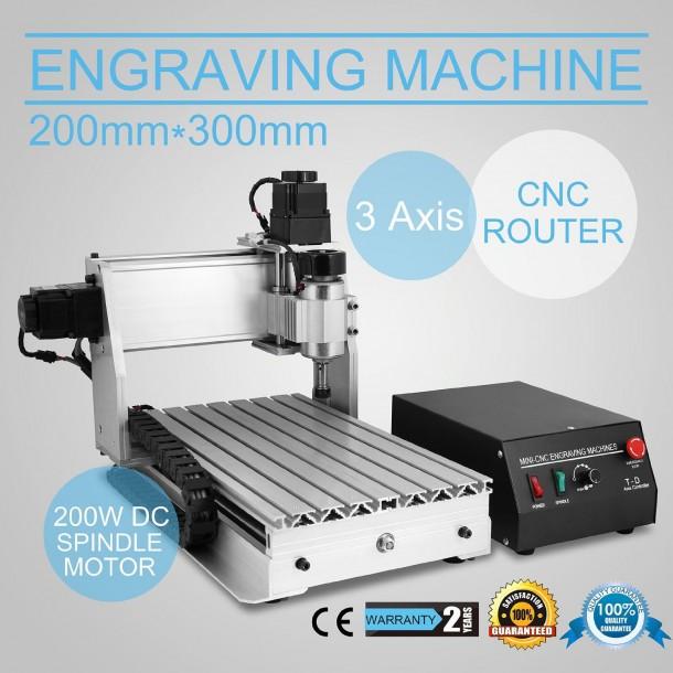 Eteyo CNC 3020t Desktop Milling Machines