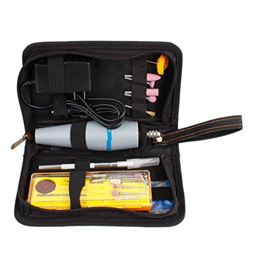 Bargz - 110V-240V Portable Mini Electric Drill Set