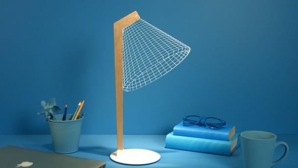 Bulbing Lamps Create 3D Optical Illusions 2