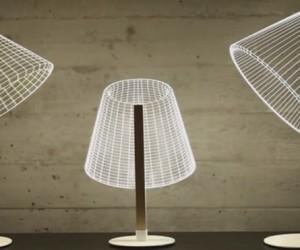 Bulbing Lamps Create 3D Optical Illusions