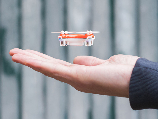 Check Out World's Smallest Quadcopter