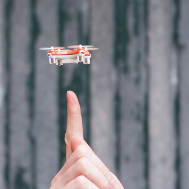 Check Out World's Smallest Quadcopter 2