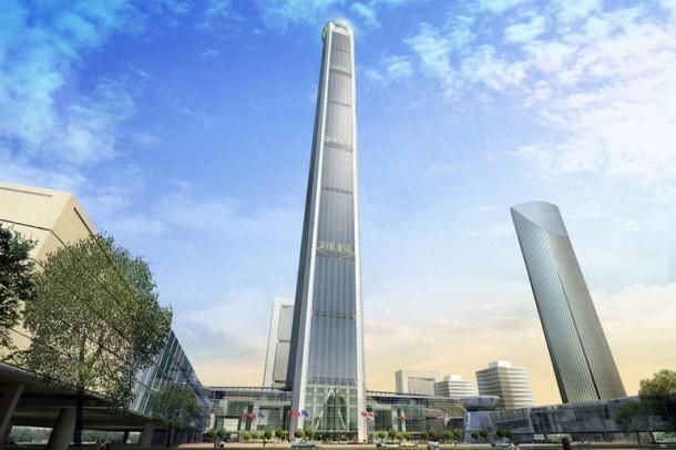 China's 'Walking Stick' Tower