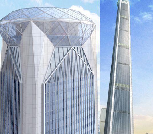 China's 'Walking Stick' Tower 3