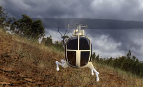 DARPA demonstrates robotic landing gear for helicopters 2