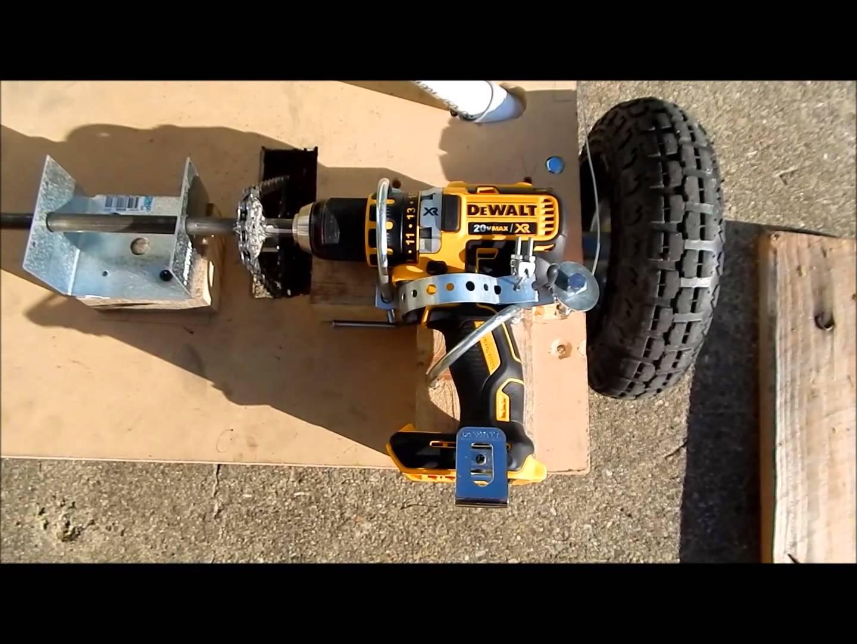 DIY go art drill motor