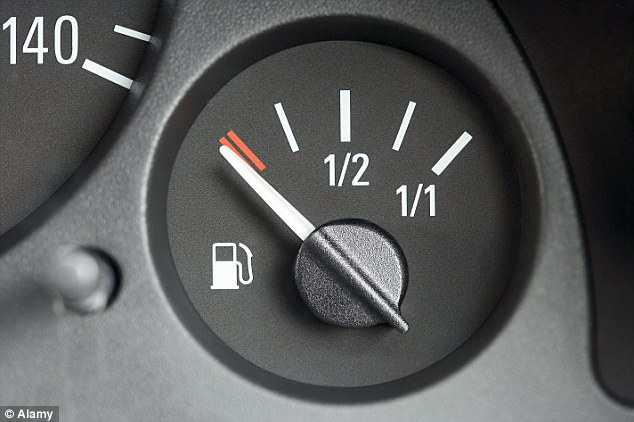 Fuel gauges unreliable