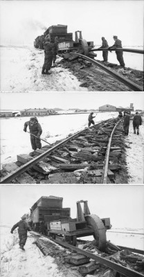 Here's How German Troops Destroyed Rail Tracks When Withdrawing from Soviet Territory in 1944 3