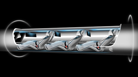 Hyperloop space X