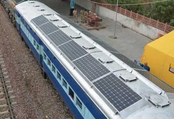 India Soon To Have A Solar Train