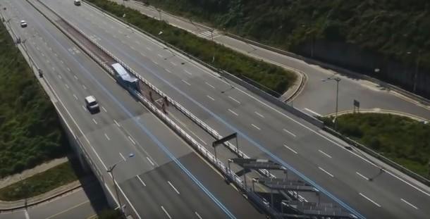 Korean Solar Bike Lane Offers Shade 2