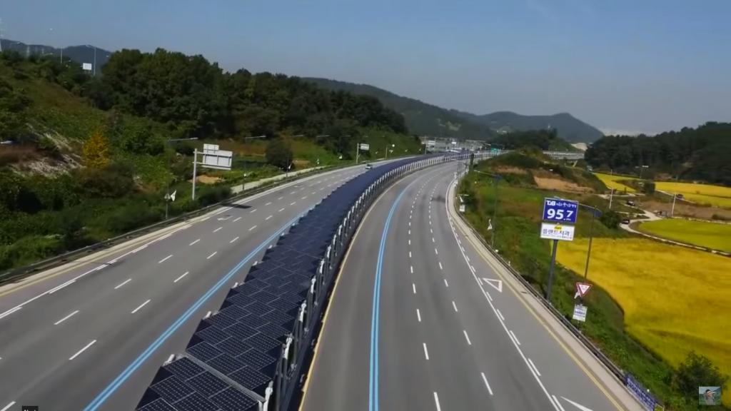 Korean Solar Bike Lane Offers Shade 4