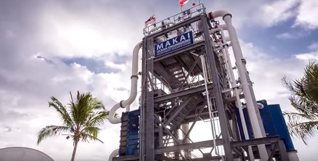 Ocean thermal energy power plant