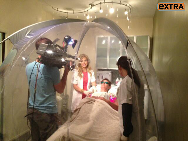 Oxygen Bubble Is The Latest Craze In Hollywood 2