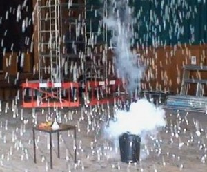 Ping Pong Balls And Liquid Nitrogen