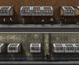 Sleeping Pods For Homeless By British Architect