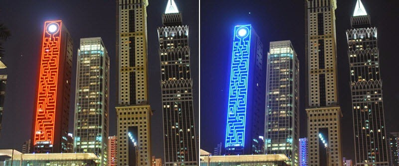 The Maze Tower Is World's Largest Vertical Maze in Dubai 6