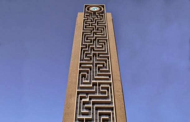 The Maze Tower Is World's Largest Vertical Maze in Dubai