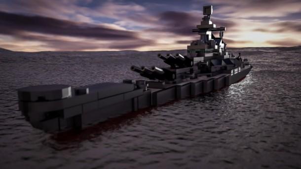 USS missouri Lego