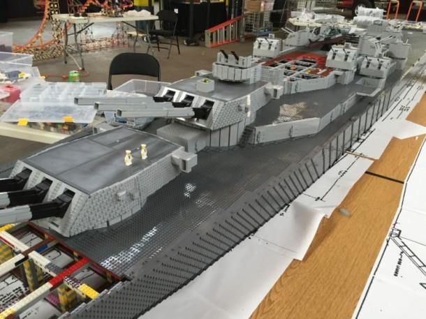 USS missouri Lego6