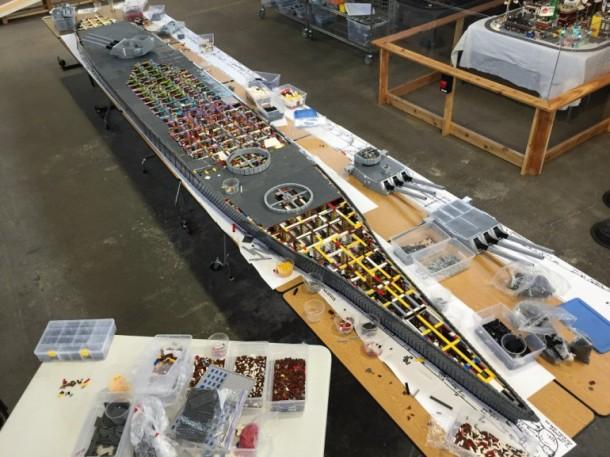 USS missouri Lego7