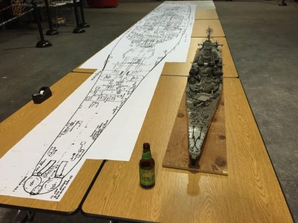 USS missouri Lego9