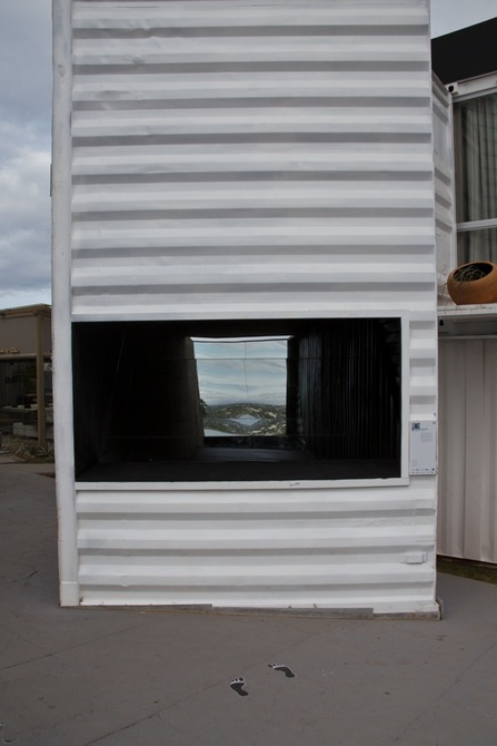 World's Biggest Periscope Created From Shipping Container 10