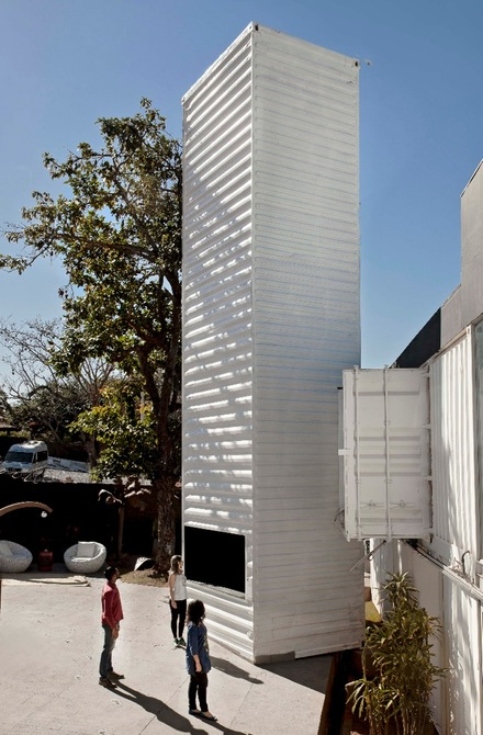 World's Biggest Periscope Created From Shipping Container 5