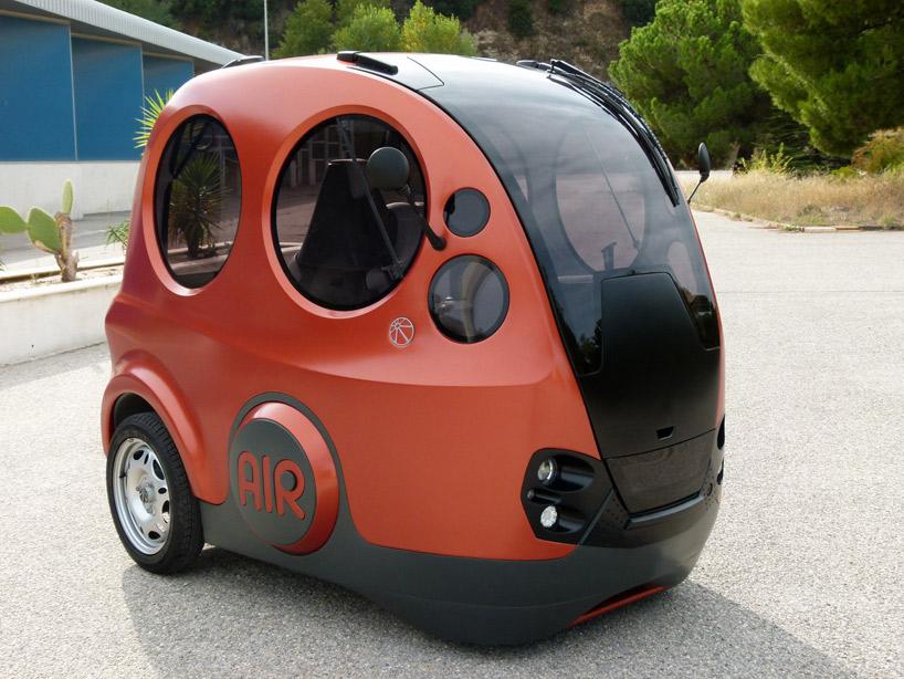 air-powered capsule