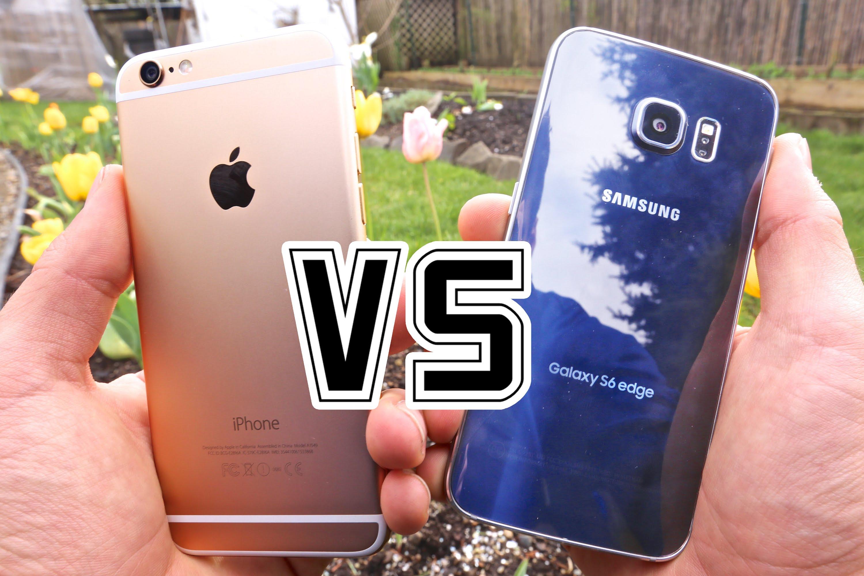 iphone6s vs S6 edge