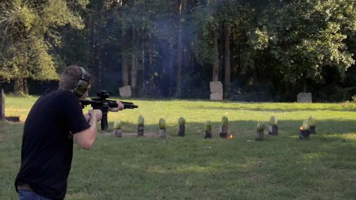 shoot watermellon