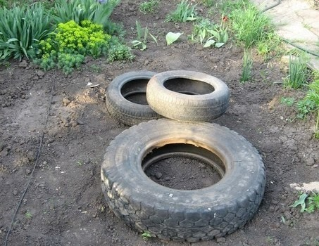tire fountain DIY8