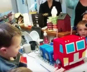 transforming cake