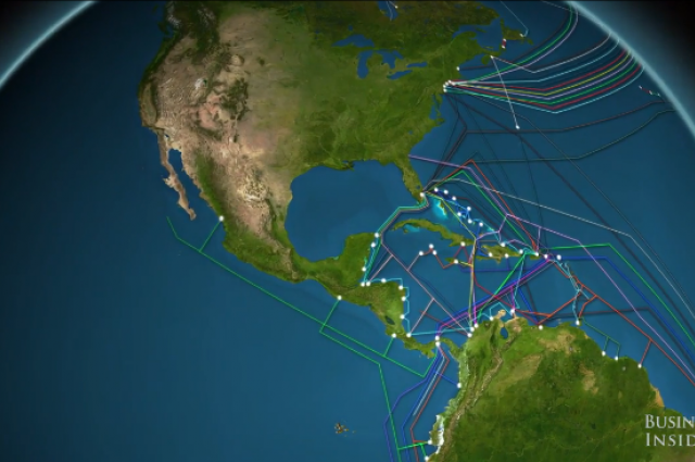 underwater internet cables