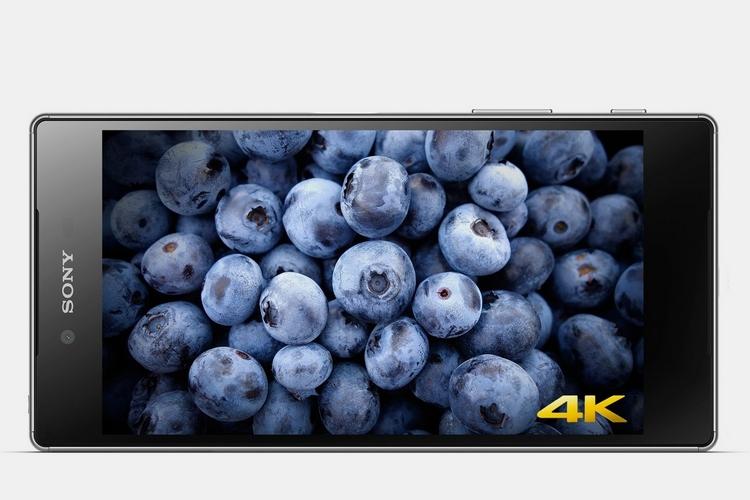 xperia z5 4 K screen3