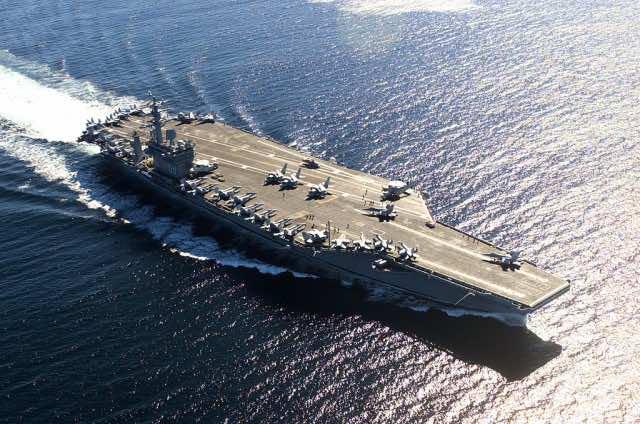 US Nimitz Class Carriers World Biggest Warships
