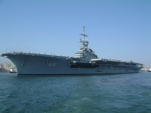 Brazilian operated Clemenceau Class Aircraft Carrier World Biggest Warships