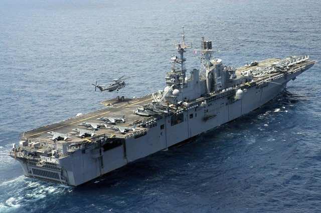 World Biggest Warships US Wasp Class Carrier/Amphibian Assault Ships