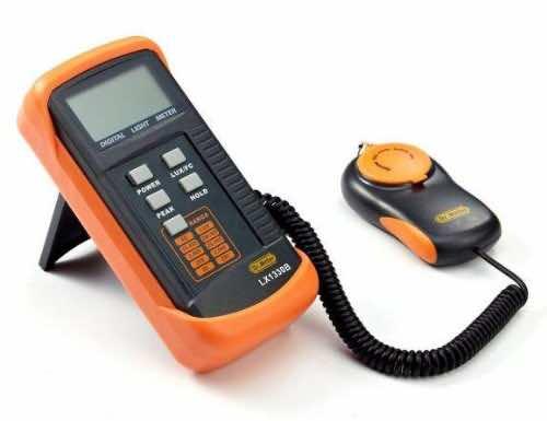 Dr.Meter Digital Illuminance/Light Meter LX1330B