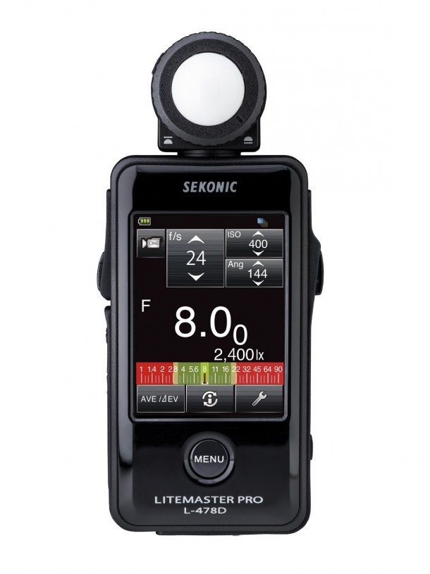 Sekonic Corporation 401-478 Digital Light Meters