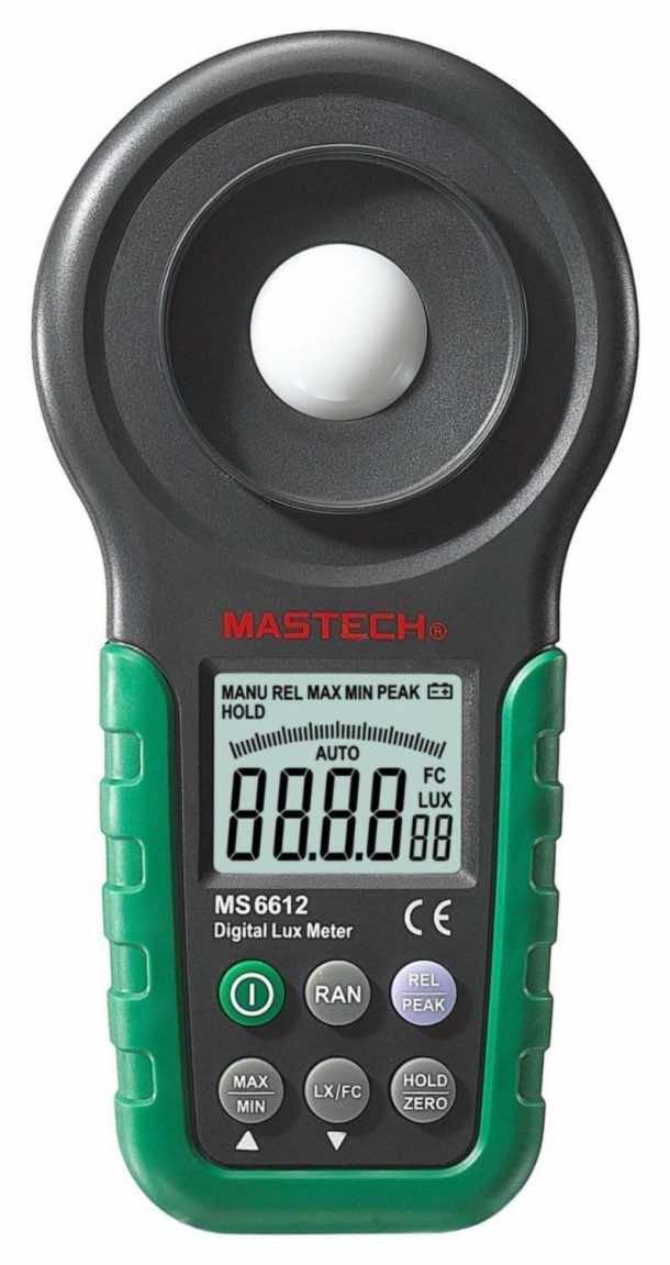 Mastech MS6612 Digital Lux