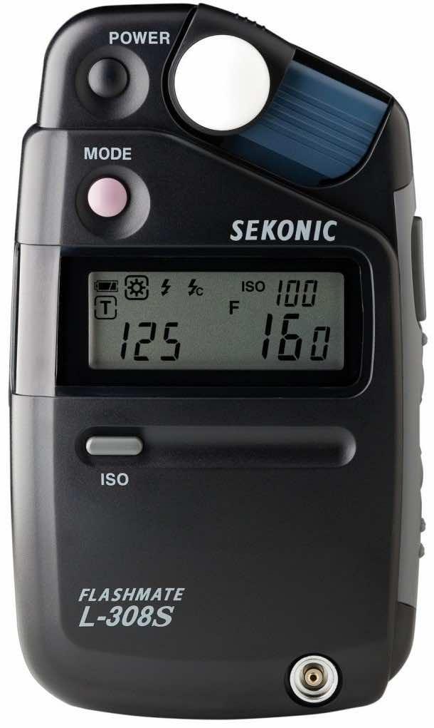 Sekonic L-308s Digital Light Meters - Black