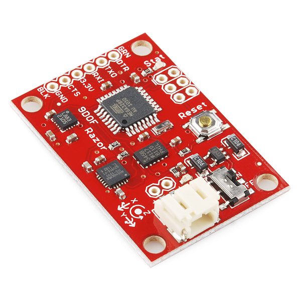 9 Degrees of Freedom - Razor IMU, SparkFun IMU Modules